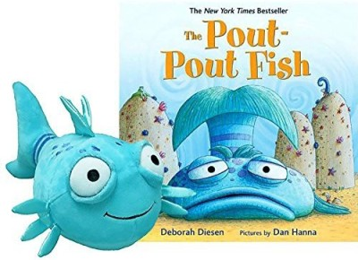 Gift Sets for Kids The Poutpout Fish Book & Plush Gift Set