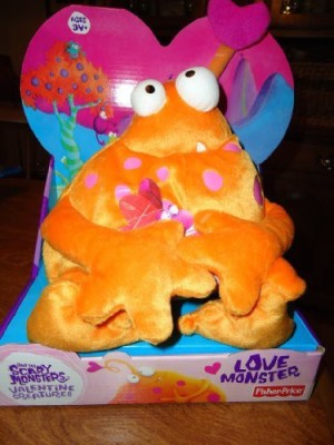 Fisher-Price Otto The Not So Scary Love Monster Valentine