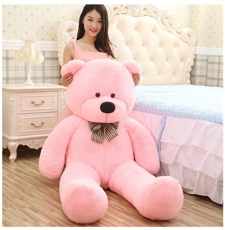 zany toys teddy bear 5ft pink soft toy - 5...