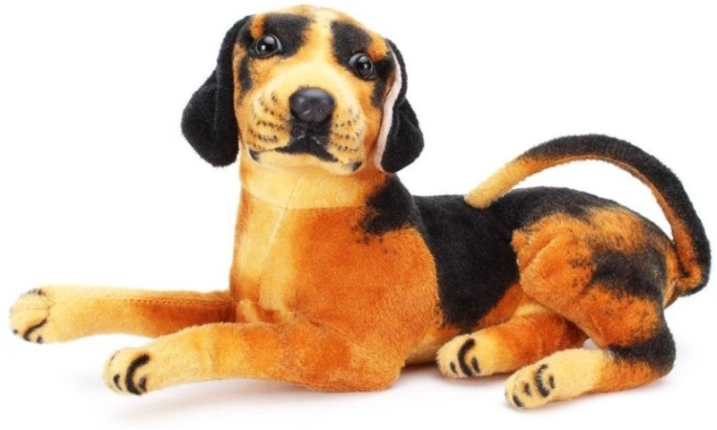 Parv Collections 99 Dog  - 28 cm(Black, Brown)