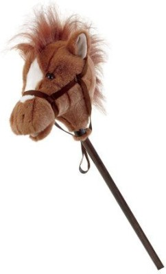 Unknown Mary Meyer Easy Ride,Ums, 33 Inch Stick Horse, Brown  - 25 inch