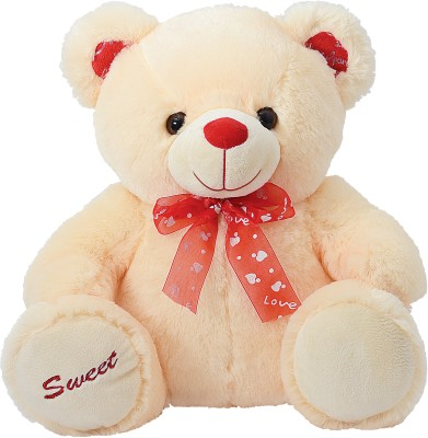 Dimpy Bear with Sweet Embroidery Paws  - 42 cm