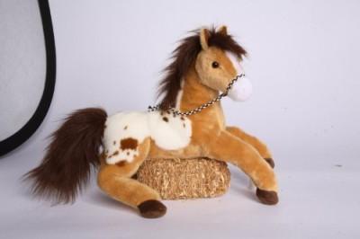 Douglas Cuddle Toys Glisten Golden Appaloosa 16