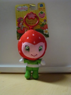 Strawberry Shortcake Strawberry Berrykin Plush Clipon