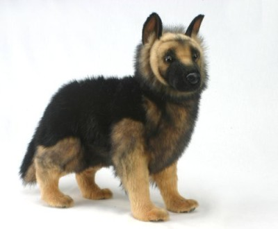 Hansa German Shepherd Puppy Plush 20(Black)
