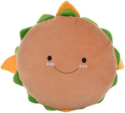Twisha Hamburger Pillow  - 14 inch