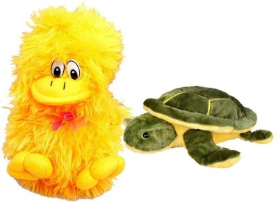 Deals India Deals India Musical Duck And Imported Turtle Combo  - 10 cm