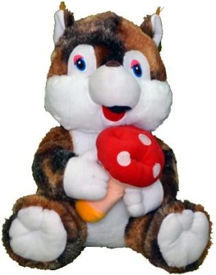 Gifts & Arts Big Soft Squirrel  - 37 cm