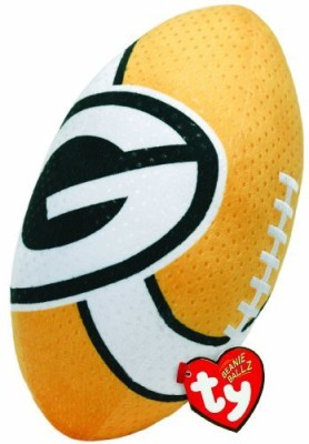 TY Beanie Babies Nfl Rz Green Bay Packers Football Plush