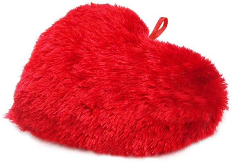 StyBuzz Heart Stuffed Pillow Cushion 16 Inch  - 16 inch(Red)