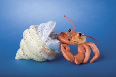 Douglas Cuddle Toys Hermit Crab