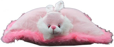 Advance Hotline Stuffed rabbit pilow shaped toy  - 32 cm(Pink)