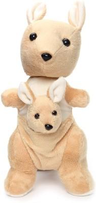 Nb Phoenix Kangaroo Mother With Baby Stuffed Soft Plush Toy Kids Birthday 20 Cm  - 20 cm