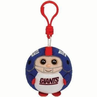 Ty, Inc. Ty Nfl Beanie Ballz New York Giants Clip
