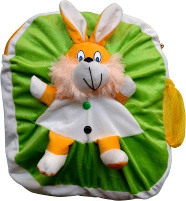 Funtastik Green Bunny Design Kids Bag  - 40 cm