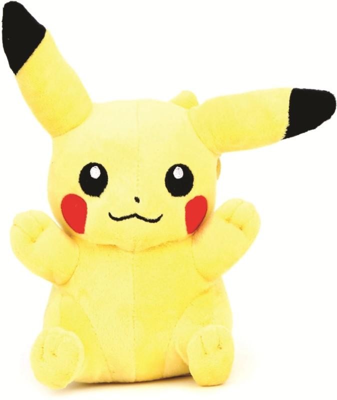Skylofts Pokemon Pikachu Soft Stuffed Toy - 14 inch(Yellow)