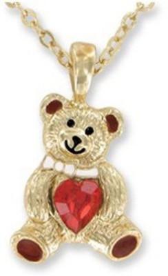 DM Merchandising Birthstone Teddy Bear January