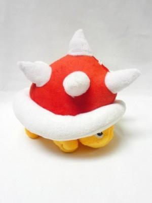 Super Mario Brothers Mario Bro Soft Red Spiny 7Inch Plush