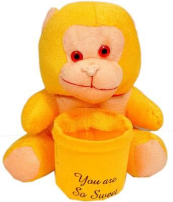 NRN TOYS Smiley Monkey cum Penstand  - 15.24