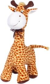Ultra Standing Giraffe Soft Toy - 16 inch(Brown)