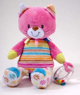 Douglas Cuddle Toy Playtivity Kitty Cuddle Pal Plush