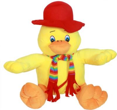 Dream Deals Cute Duck with mufflor cap  - 50 cm