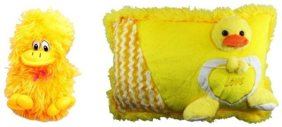 Deals India Deals Musical Duck And Imported Duck Pillow  - 10 cm