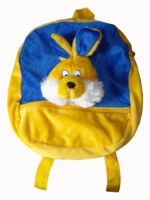 MGPLifestyle Rabbit Picnic, School Bag for Kids in Yellow & Blue Color  - 12 cm