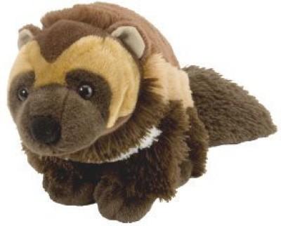 Wild Republic Cuddlekin Wolverine 12