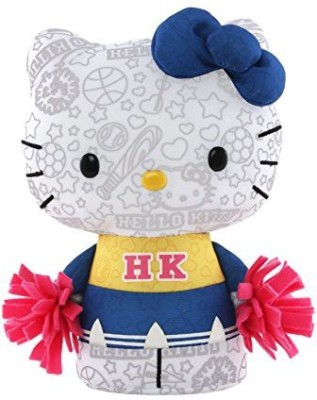 Hello Kitty Color Me Kitty Small Cheerleader Plush
