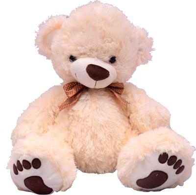 U Smile Cream Bear (L) 34 cm  - 34 cm