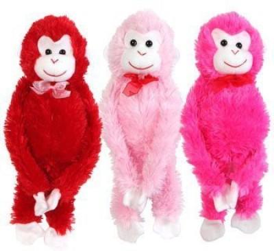 Greenbrier Valentine,S Plush Hanging Monkey 17