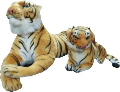Ekku Set of 2 Tigers  - 7 inch