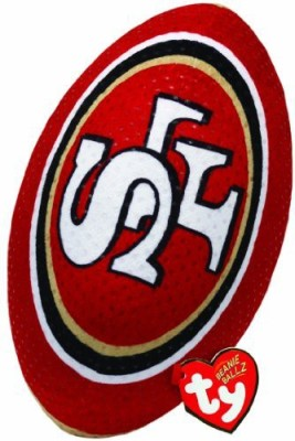 TY Beanie Babies Nfl Rz San Francisco 49Ers Football Plush