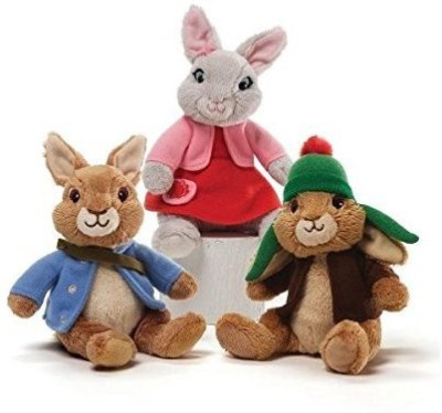 Nickelodeon S Benjamin Bunny Peter Rabbit And Lily Bobtail Beanbag