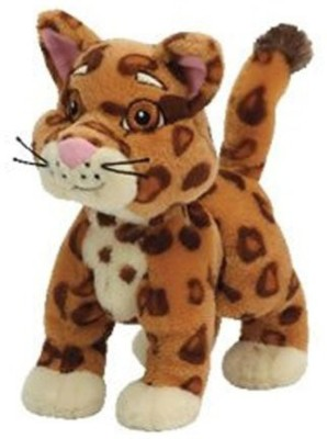 Dora the Explorer Ty Beanie Babies Collection Dora,S Friend Ba Jaguar