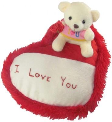 Tickles Teddy On Heart  - 20 cm