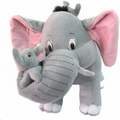 KINDERBUDDY MOTHER ELEPHANT WITH BABY  - 20 cm