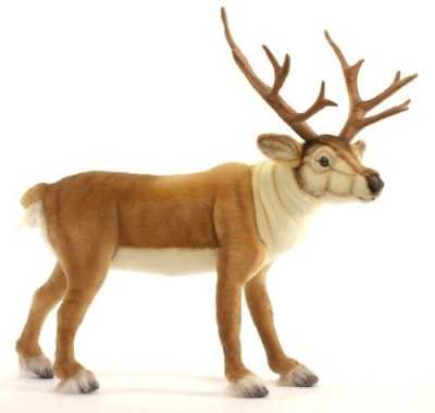 Hansa 5373 24 Nordic Deer Plush(Brown)