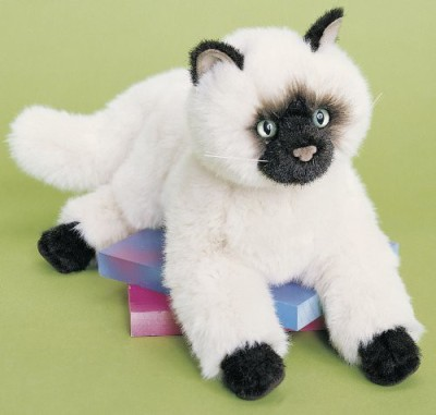 Douglas Cuddle Toys Tasha Himalayan Cat Plush 16