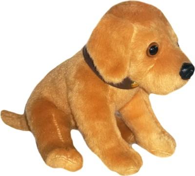 Soft Buddies Sitting Labrador Dog  - 8 inch