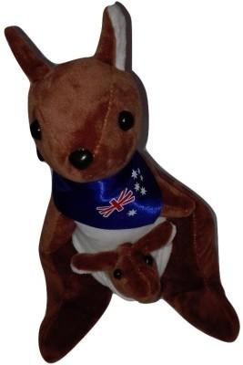 Cuddles Kangaroo With Baby  - 30 cm