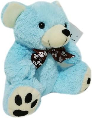 Soft Buddies Z Bear Small - Blue  - 7.6 inch