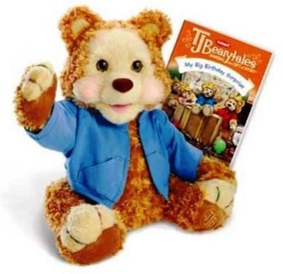 Hasbro Playskool Tj Bearytales Animated Plush Bear