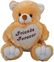 Saugat Traders Friends Forever Teddy Bear  - 40 cm(Brown, White)
