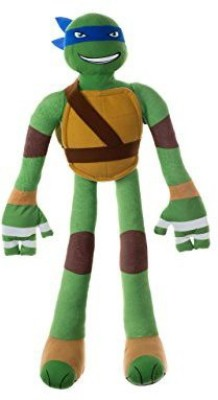 Stretchkins Teenage Mutant Ninja Turtle Leonardo Lifesize Plush