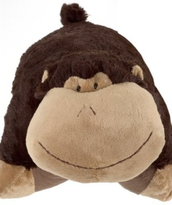 Pillow Pets My Silly Monkey - Large (Brown)  - 20 inch