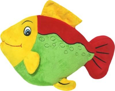 Soft Buddies Fish Red & Green  - 13 inch