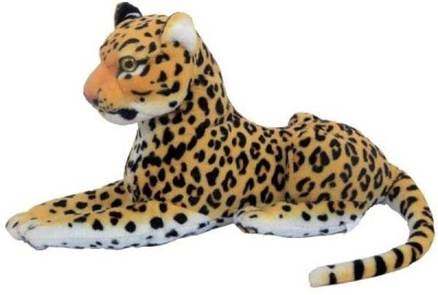 PIST Soft Toys Yellow Cheetah Stuffed  - 32 cm(Yellow)