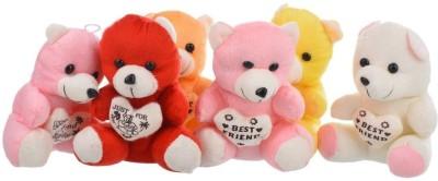 ARIP Small Teddy 6 Inch Set of 6  - 15 cm